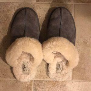Ugg slippers. US size 9, fits snug